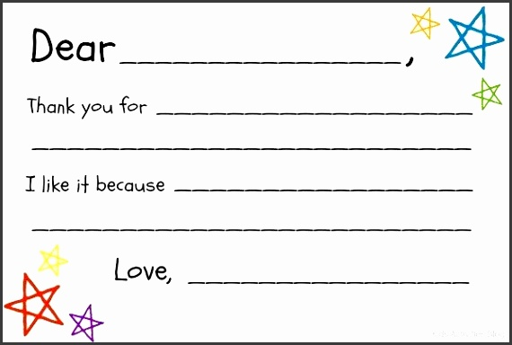 Printable Thank You Letter Template