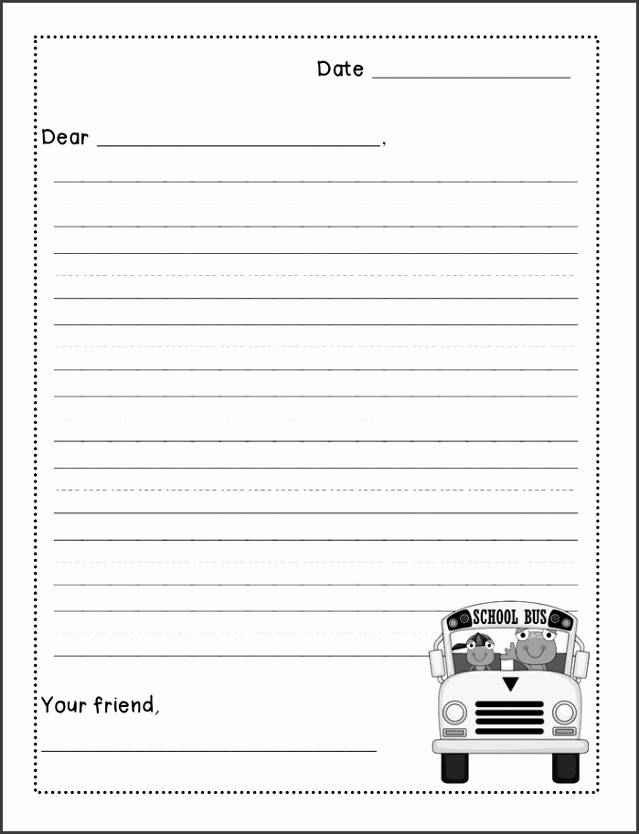 53 Best Writing Friendly Letters Pinterest Friendly Letter Writing Format For Kids Letter Writing