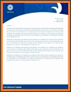 7 office letterhead templates