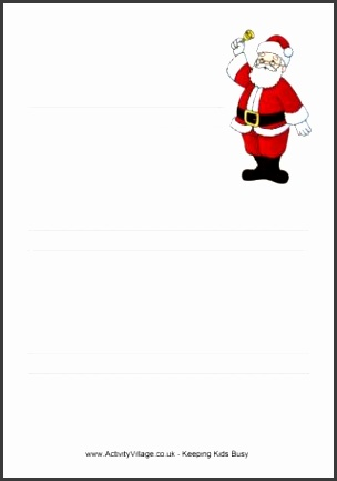 Christmas Writing Paper a4 lined paper without margin