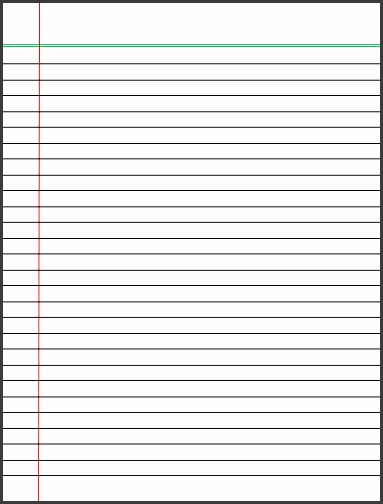 Here is link Download Lined Paper Template