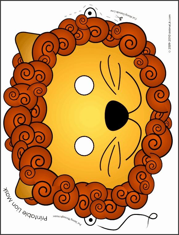 lion mask color1