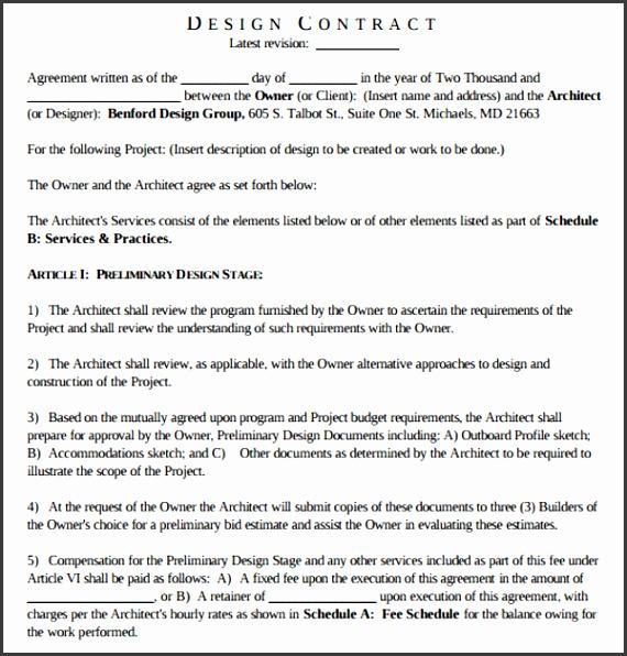 interior designer charges 12 vibrant idea contract template