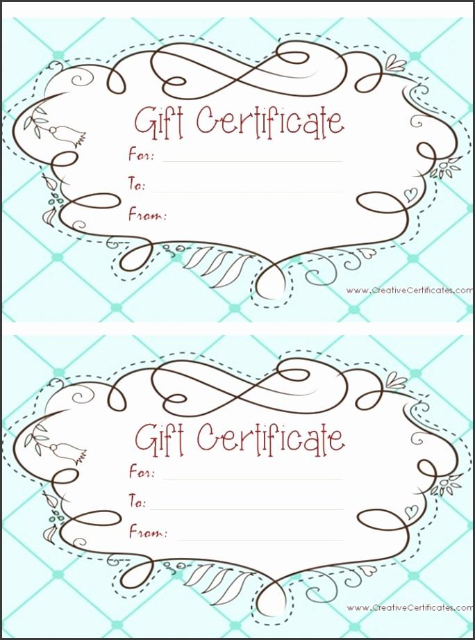 Free Voucher Template Word birthday t certificate for ms word at so many free t certificate printables printables i graduation