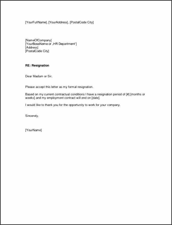 Template For A Resignation Letter Make Your Own Gift Voucher with Job Resignation Letter Sample Template