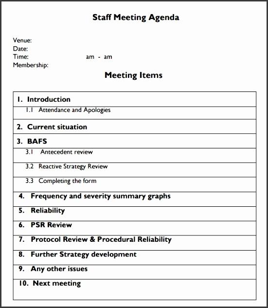 Team meeting agenda template photoshots Team Meeting Agenda Template Staff Format Icon Ravishing Sample 4 Documents