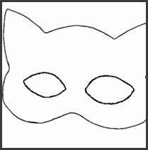 CATWOMAN mask Parrot mask