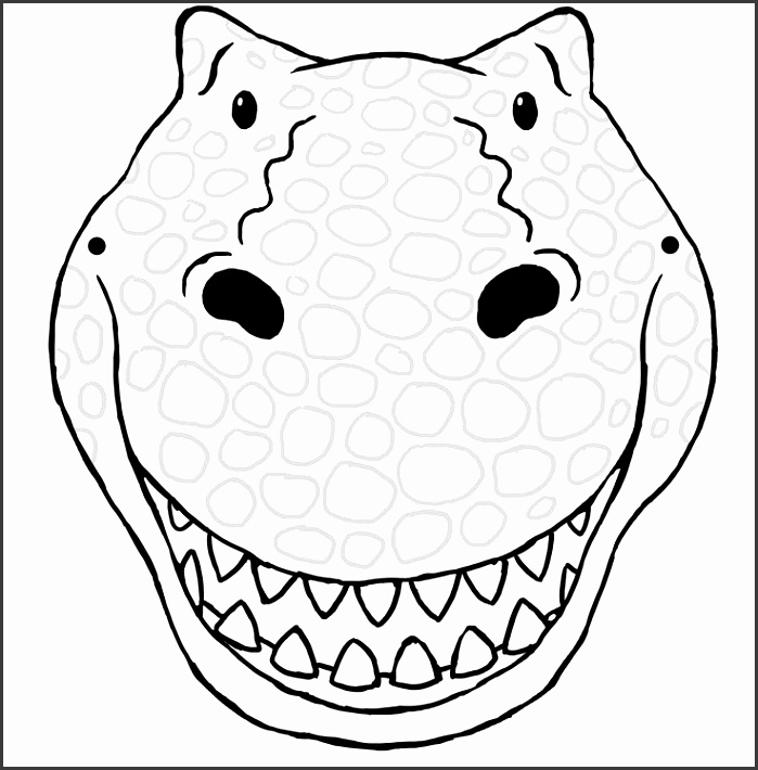 6 Mask Template for Children - SampleTemplatess - SampleTemplatess