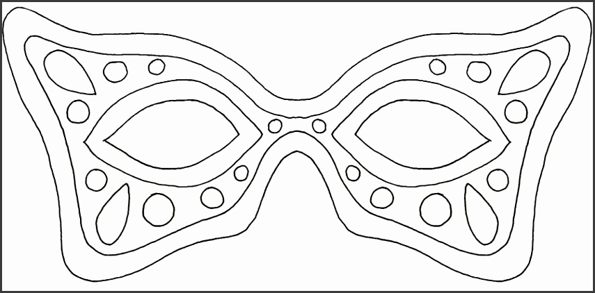 re covered treasures mardi gras mask template 58adc75a3df78c345bdd12d1