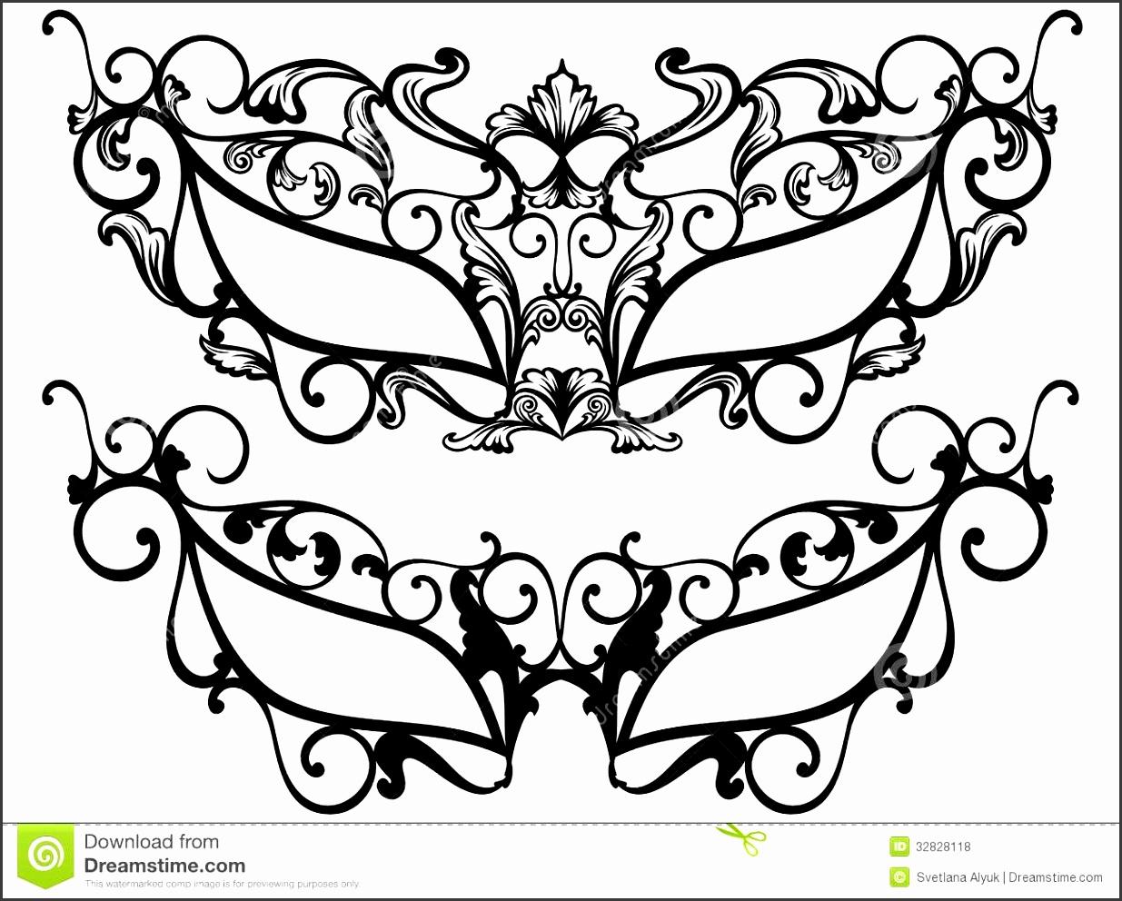Masquerade Masks Vector Royalty Free Stock s Image
