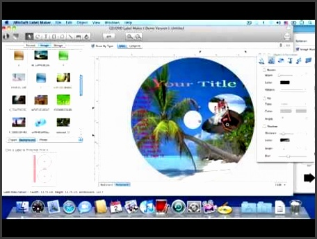 Mac CD DVD Label Maker CD DVD Label Software for Mac OS X