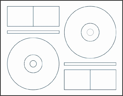 Klone c 2 Up Cd Label Sheets For Memorex From American Digital Memorex Dvd Label Template