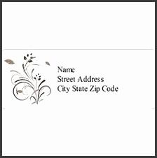 Templates Wedding Elegant Swirls Address Label 30 per sheet