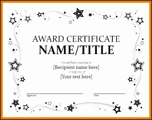 Certificates – fice Word Certificate Templates … the one stop solution is ms word certificate template Word offers numerous … award certificate