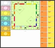 Blank Monopoly Board by