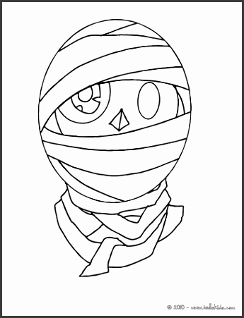 Beast monsters Halloween monster face coloring page Coloring page HOLIDAY coloring pages HALLOWEEN coloring pages