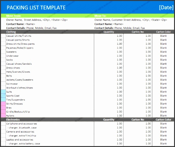 Microsoft Word Templates Categories