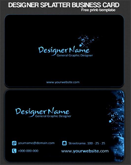 Best so far Business Card Design Tutorials Resources & Inspirations