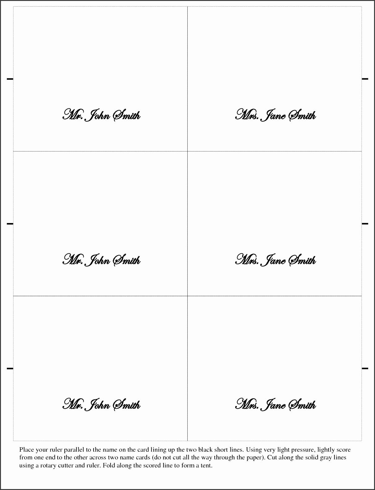 Free Blank Business Card Template Microsoft Word