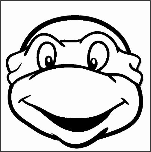 Ninja Turtle Head Template