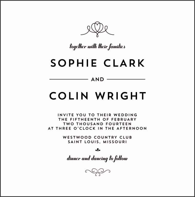 wedding invitation wording templates wedding invitations templates
