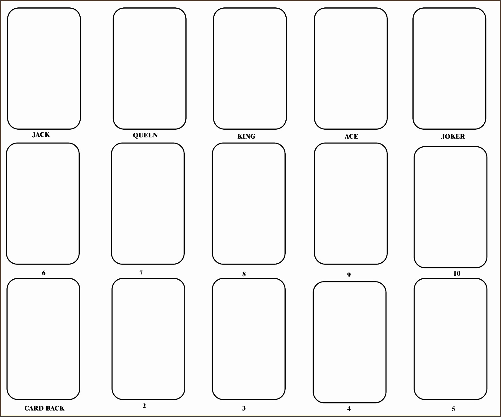word template for cards 28 images index card template cyberuse