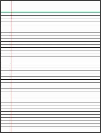 Can you print on lined paper templatebillybullockus resume template doc Billybullock