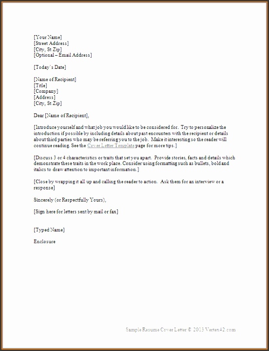 official letter template word sume cover letter template
