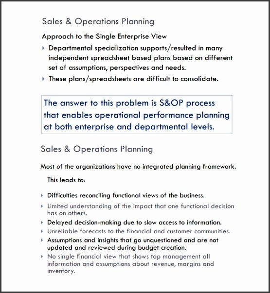 Sales Plan Templates Free Sample Example Format Free