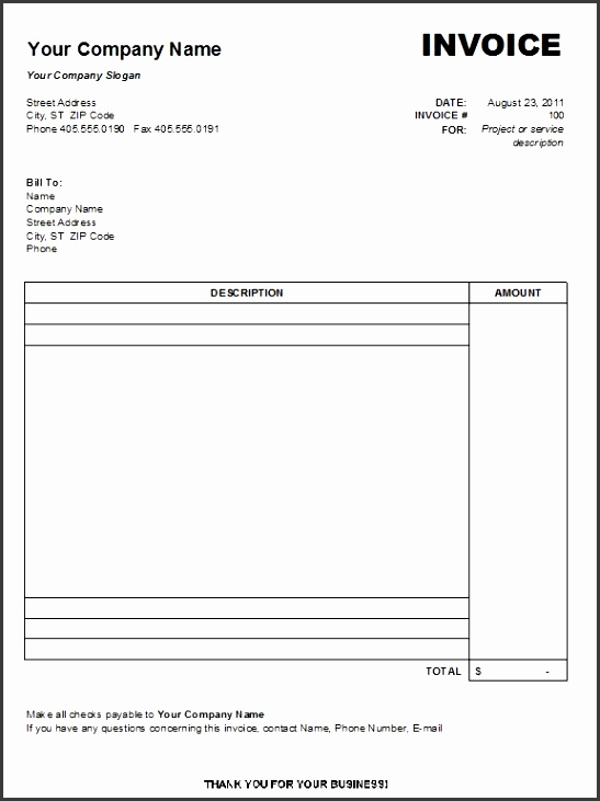 6 order form template excel download