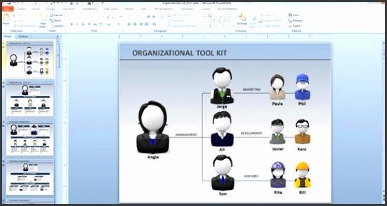 Powerpoint Organization Chart Template Cassehfo