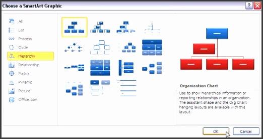 org chart template powerpoint 2010 insert an organization chart in powerpoint 2010 powerpoint tutorials free
