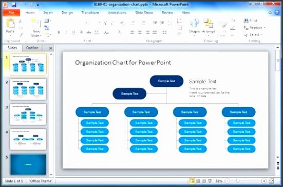 Template Chart Powerpoint Best Organizational Chart Templates For Powerpoint Template