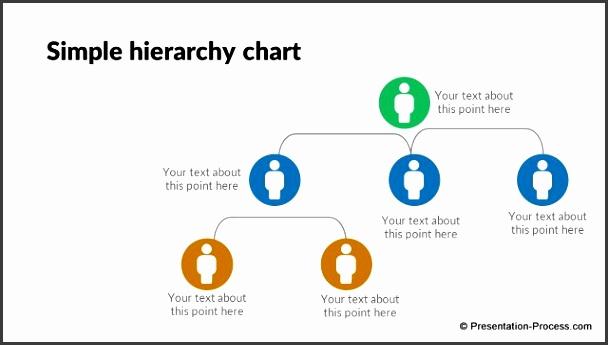 pptx flat design org chart 003