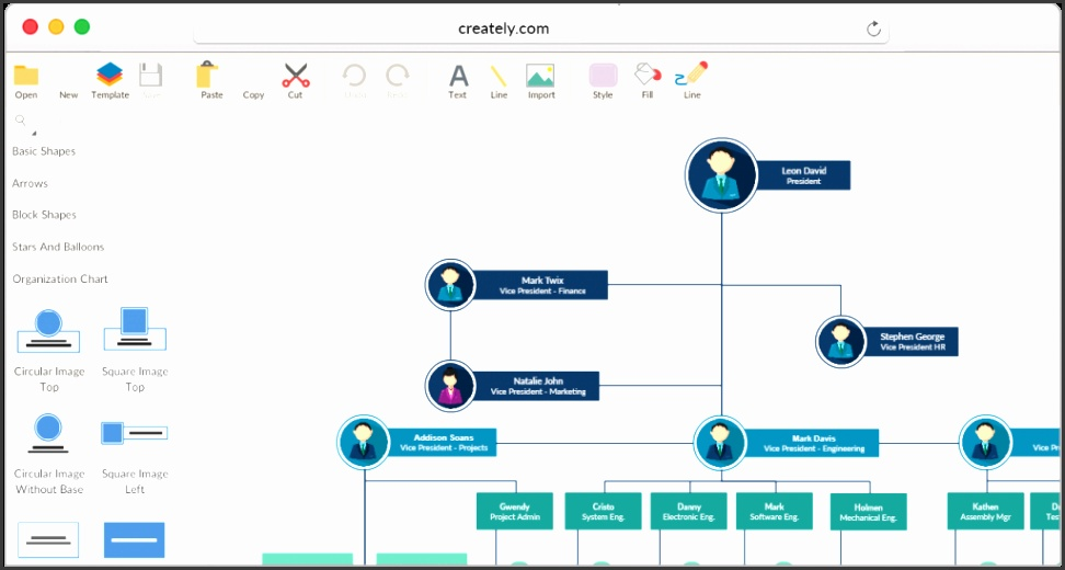 Draw Organizational Charts line with Diagrams Organizational Chart Template The Corporation Business Draw Organizational Charts line with