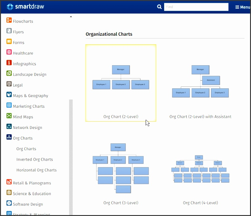 Organizational Chart templates for Word