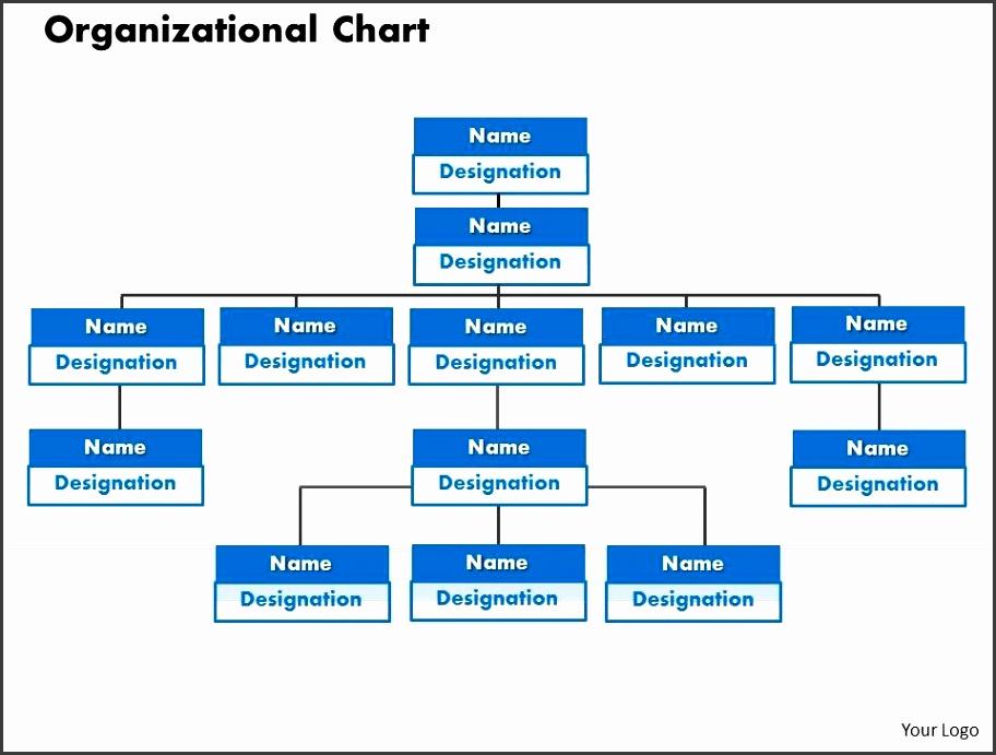 Organizational Chart Template PowerPoint