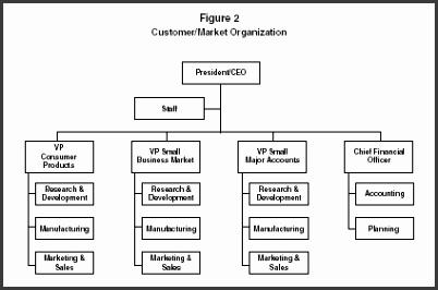 Figure 2 Customer Market Organization