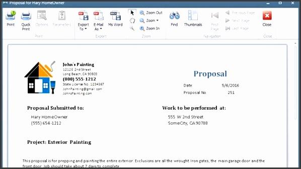 Paint Proposal