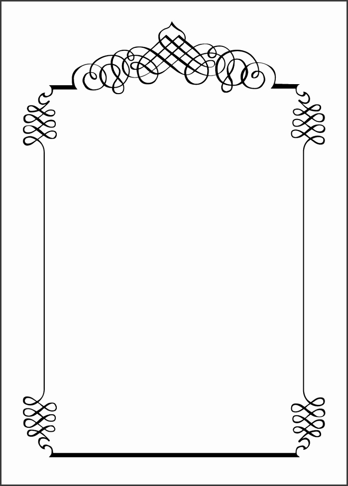 free border templates – Cliparts