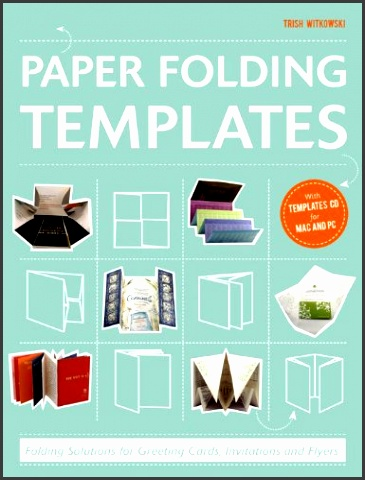 Paper Folding Templates Folding Solutions for Brochures Invitations & Flyers