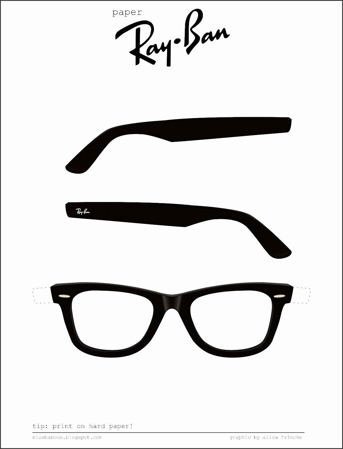 blue baboon paper Ray Ban glasses YEEEEESSSSSSS