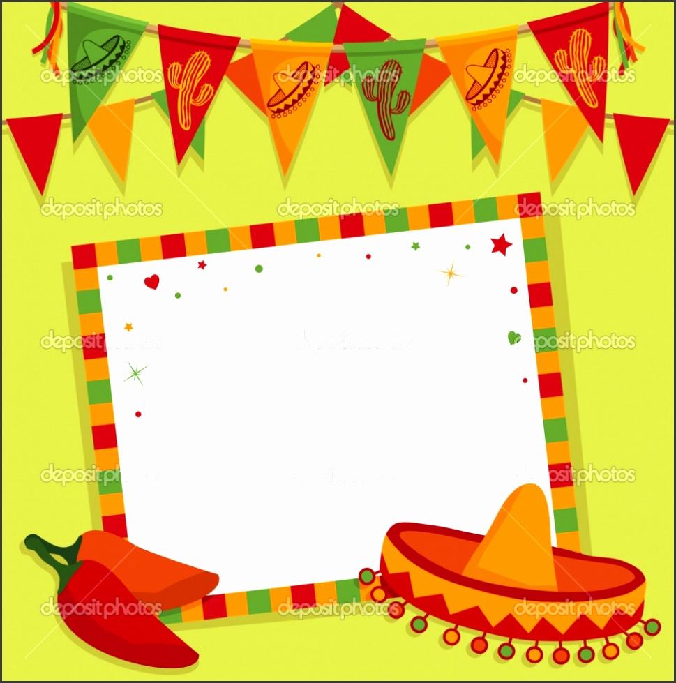 Mexican Fiesta Invitation Templates Free
