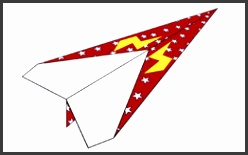 paper airplane 262 0