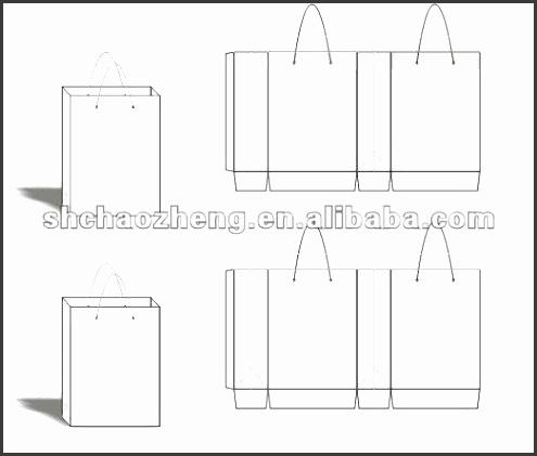 Design Paper Bags Template