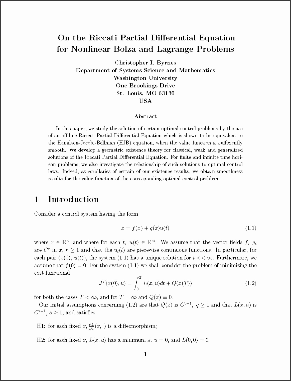 a sample paper in Latex Format · paper page 1 in JPEG Format