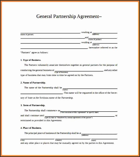 8 Corporate Partnership Agreement Template
