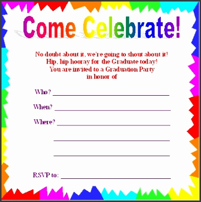 Partys Invitation Party Invitations Free