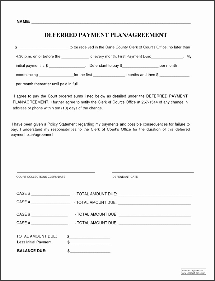 Loan Payment Contract Form Personalement Repayment Template Employee Agreement Format Car Free Medium