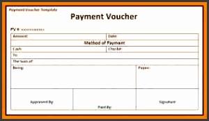 7 payment voucher format
